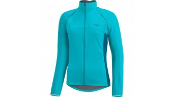 GORE Bike Wear Phantom Plus Jacke Damen-Jacke Gore Windstopper Zip-Off Lady Gr. 38 scuba blue/ink blue