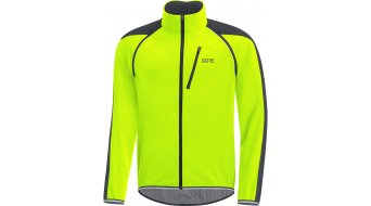 Gore C3 Windstopper Phantom Zip- open jack heren neon yellow/black