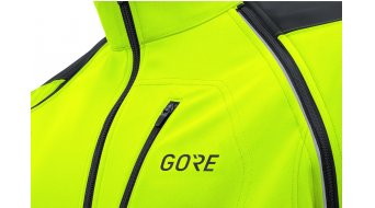 GORE C3 Windstopper Phantom Zip-Off 夹克 男士 型号 S neon yellow/black