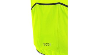 Gore C3 Windstopper PHANTOM Zip- open jack heren maat S neon yellow/black