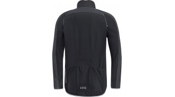 Gore C3 Windstopper PHANTOM Zip- open jack heren maat S black/terra grey