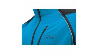 Gore C3 Gore Windstopper Phantom Zip- open jack heren maat S dynamic cyan/black