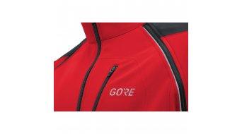 Gore C3 Gore Windstopper Phantom Zip- open jack heren maat S red/black