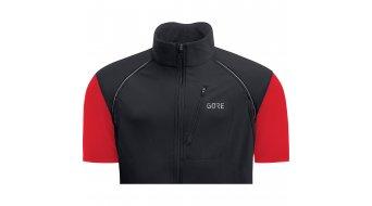 Gore C3 Gore Windstopper Phantom Zip- open jack heren maat S black/red