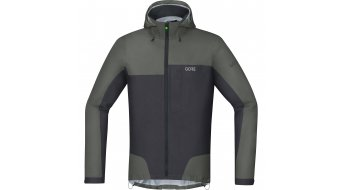 Gore C5 Gore-Tex Active Trail hoodie jacket men grey
