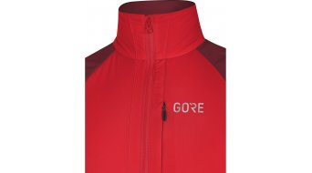 GORE C5 Partial WINDSTOPPER 保温隔离 夹克 男士 型号 S red/chestnut red