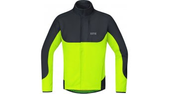 GORE C5 WINDSTOPPER Thermo Trail Jacke Herren neon yellow/black