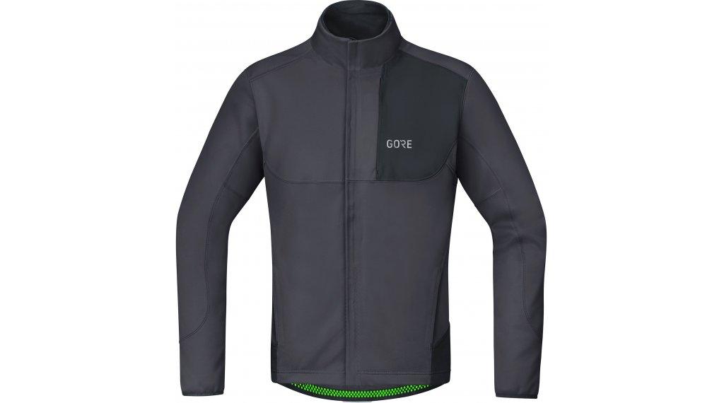 Gore C5 WINDSTOPPER Thermo Trail giacca da uomo mis. S terra grey/black