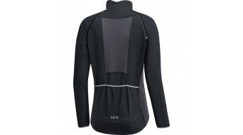 GORE C3 Windstopper Phantom Zip-Off chaqueta Señoras tamaño XS (34) negro/terra grey