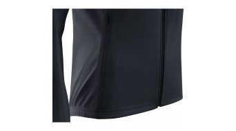 Gore C3 Windstopper Phantom Zip- open jack dames maat XS (34) black/terra grey