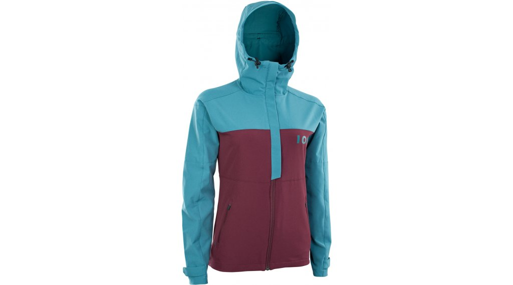 ION Shelter Softshell 夹克 女士 型号 XS (34) laguna green