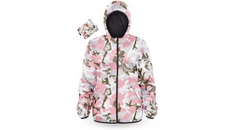 Loose Riders Forest Pink Camo Water Resistant Windbreaker dames