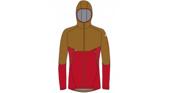 Maloja CurdinM. Softshell jack heren maat. M red poppy multi- SAMPLE