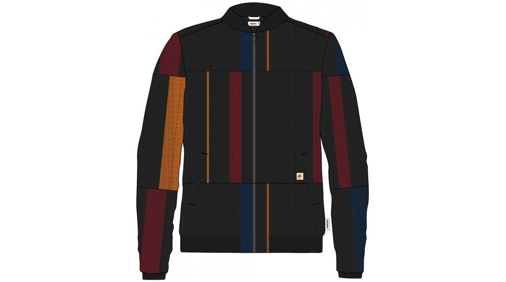 Maloja PozzolM. Primaloft Jacket 男士 型号 M moonless laya stripe- MUSTERKOLLEKTION