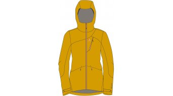 Maloja UrsulinaM. Jacket 女士 型号 M golden Sun- MUSTERKOLLEKTION