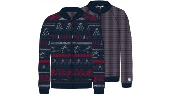 Maloja DuengM. Reversible Knitted jacket men size M mountain lake- SAMPLE