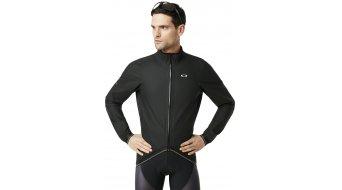 Oakley Waterproof rain jacket men blackout