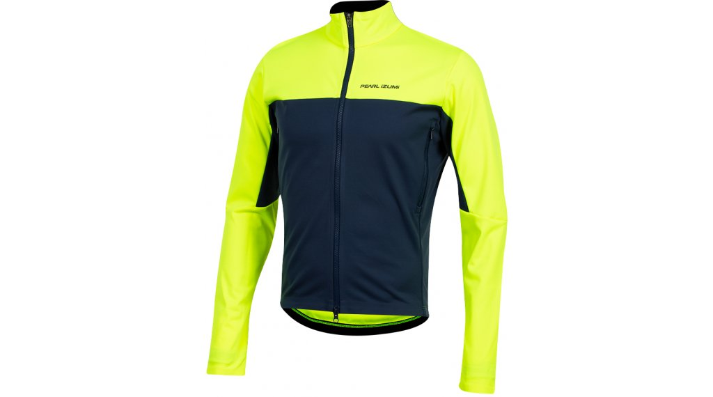 Pearl Izumi Interval AmFIB jacket long men size L screaming yellow/navy