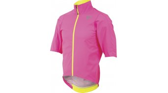 Pearl Izumi P.R.O. Rain jacket short sleeve men- jacket road bike rain jacket size M screaming pink
