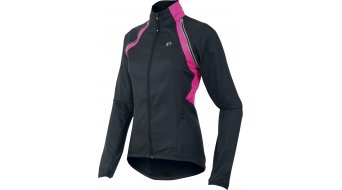 Pearl Izumi Elite Barrier Convertible Jacke Damen-Jacke Rennrad abnehmbare Ärmel black/screaming yellow/screaming pink