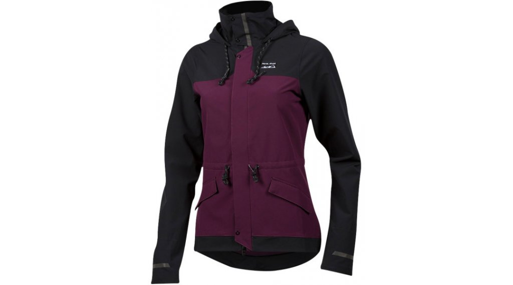 Pearl Izumi Versa Barrier MTB-Jacke Damen Gr. S black/potent purple