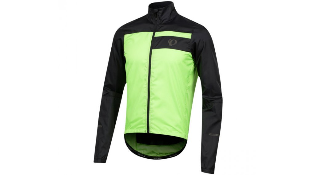 Pearl Izumi Elite Escape Barrier Jacket 男士 型号 S black/screaming green