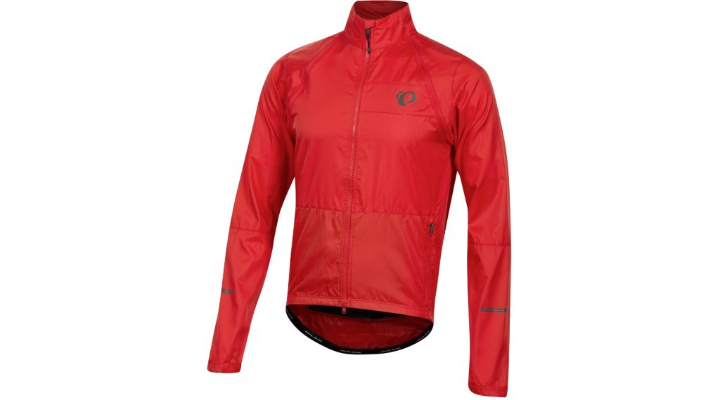 Pearl Izumi Elite Escape Convertible jacket men size S torch red