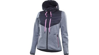 Protective Functional Hoody jacket ladies grey melange