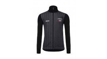 Santini Trek-Segafredo Rome Lifestyle jack heren black model 2018