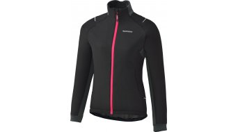 Shimano Windbreaker Insulated Jacke Damen-Jacke Windjacke Gr. L black/jazzberry