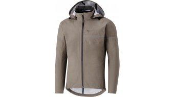 Shimano Transit Hardshell chaqueta impermeable Caballeros morel