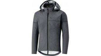 Shimano Transit Hardshell chaqueta impermeable Caballeros raven