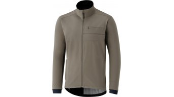 Shimano Transit Softshell Wind jacket men morel