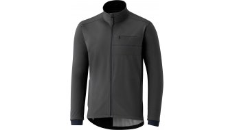 Shimano Transit Softshell Wind jacket men size XXL raven