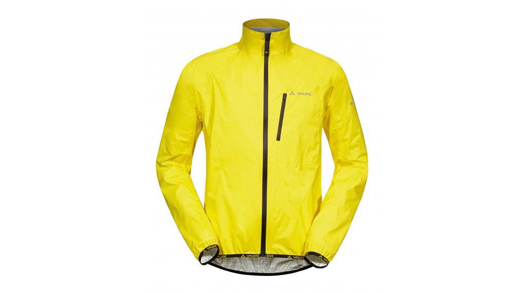 VAUDE Drop III Regen Jacket 男士 型号 S canary