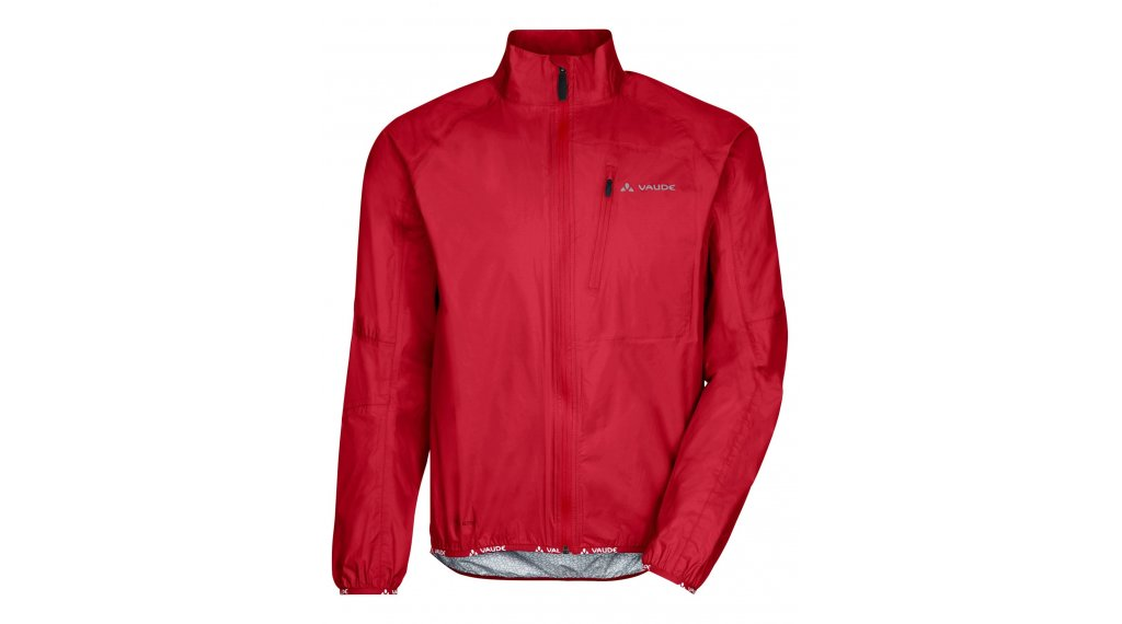 VAUDE Drop III Regen Jacket 男士 型号 L indian red