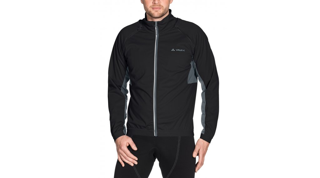 VAUDE Brocon Zip-Off Softshell- jacket men size M black