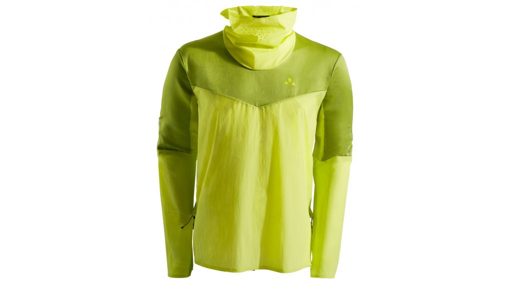 VAUDE Green Core Windbreaker size M duff yellow