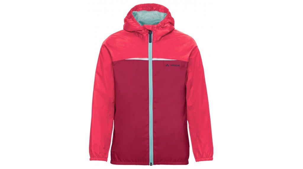 VAUDE Turaco rain jacket kids size 134/140 bright pink