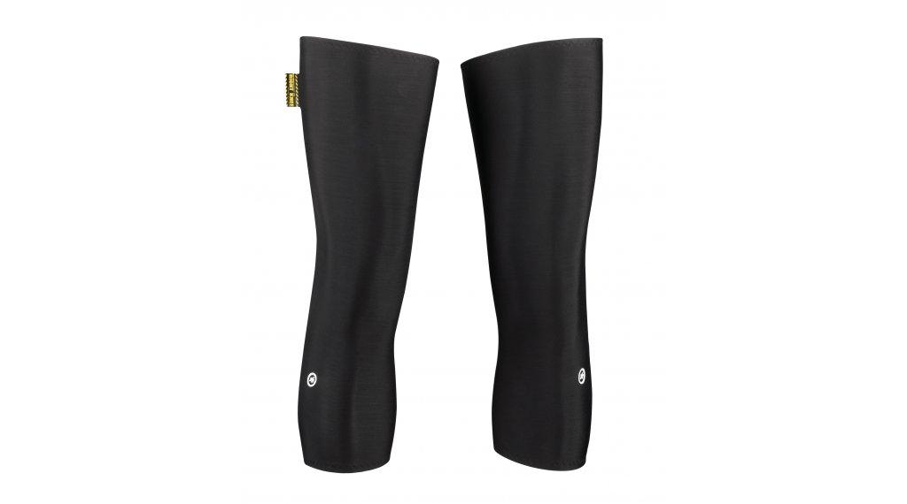 Assos kneewarmer 暖膝套 型号 0 blackSeries