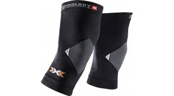 X-Bionic Biking No Seam knee warmers black/white