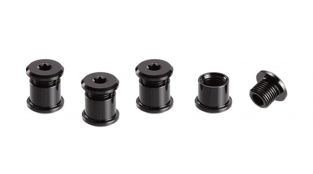 e*thirteen Kettenblattschrauben 7.5mm für 2-fach/3-fach 4 Stück black