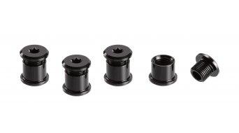 e*thirteen chain ring bolt 7.5mm for duplex/triplex 4 pcs. black
