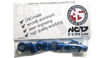 NC-17 CNC Kettenblattschrauben 4/5-Loch blau