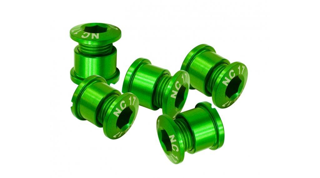 NC-17 CNC Kettenblattschrauben 4/5-Loch grün