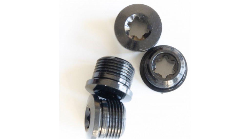 RaceFace aluminium/torx kettingbladschroefbout BMX black