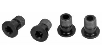 RaceFace steel chain ring bolt long black