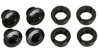 RaceFace Chainring Bolt/Nut Pack steel for 1 speed cranks