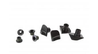 rotor Cover for Shimano Dura Ace 9100 road bike crank 4 hole (110mm) (4 pcs.) black