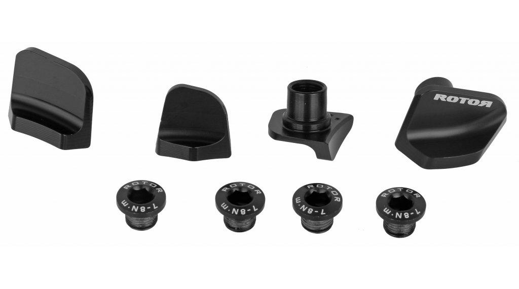 ROTOR Cover Set für Shimano Kurbel Ultegra 8000 4x110mm schwarz